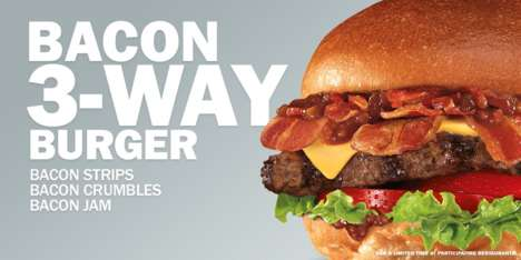 Triple Bacon Burgers