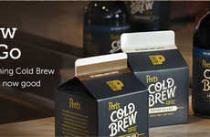 Convenient Cold Brew Cartons - Peet's Coffee is Now Selling Cold Brew in Ready-to-Drink Cartons
