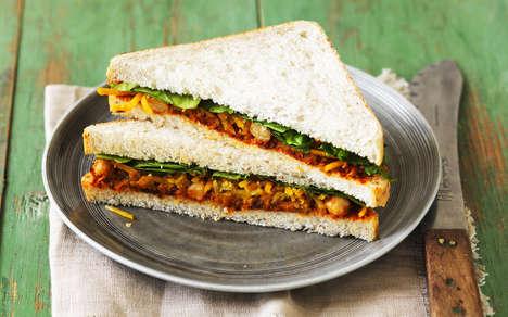 Portable Vegetarian Sandwiches