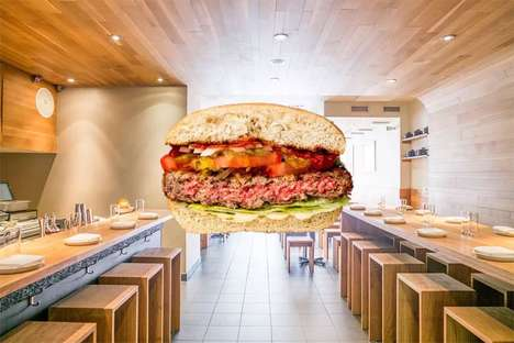 Bleeding Vegetarian Burgers