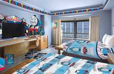 Cartoon-Themed Hotel Suites