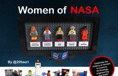 Female Scientist LEGO Sets - This New LEGO Set Celebrates the Women of NASA