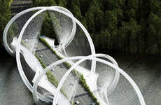 360-Degree Suspension Bridges