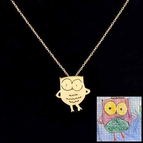 Childlike Jewelry Designs
