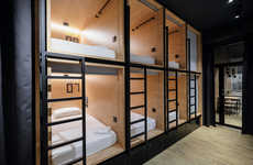 Modern Capsule Hotels - This Box Hotel Offers Cramped but Cozy Hotel Suites