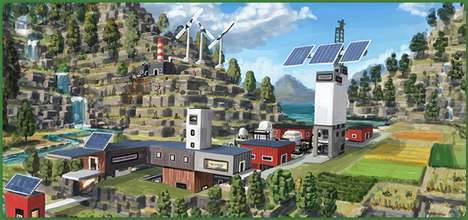 Climate Change Video Games - 'ECO' is an Environmental Game for Children by Strange Loop Games