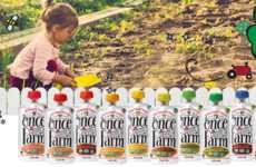 Age-Inclusive Baby Foods - The 'Once Upon a Farm' Baby Foods are Designed for Different Age Groups