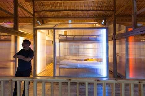 Minimalist Youth Hostels