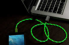 Illuminating Lightning Cables