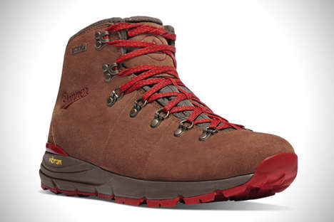 Adaptive Grip Boots - Danner's Mountain 600 Shoes Provide Cushioned Support For Long Hike Treks