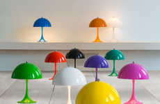Retro Replica Desk Lamps - Louis Poulsen's Lamps are Inspired by the Iconic Panthella Lamp