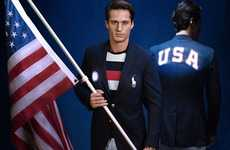 Patriotic Clothing Collections - These Clothes Were Designed for the Olympic Opening Ceremony