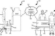 Shoe-Based Tracking Robots - A New Disney Patent Plans to Track Park Visitors with Pictures of Shoes