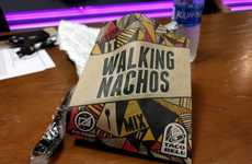 Portable Nacho Packets - Taco Bell's New Walking Nachos are Designed for Easy Transport