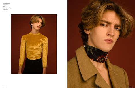 Nostalgic Menswear Portraits