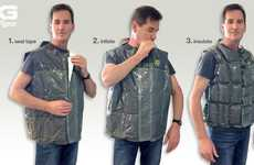 Inflating Emergency Vests - The XeroVest Protects You From the Harshest Elements