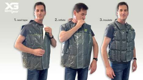 Inflating Emergency Vests