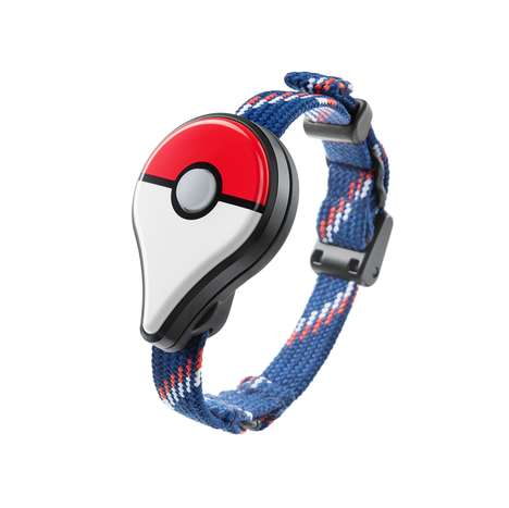 Game-Continuing Wearables - This Official Pokemon Go Wristband Allows Wearers to Play On the Go