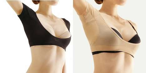 Sweat Protection Armpit Shields - This Sweat Shield Protects Your Shirts From Unseemly Sweatiness