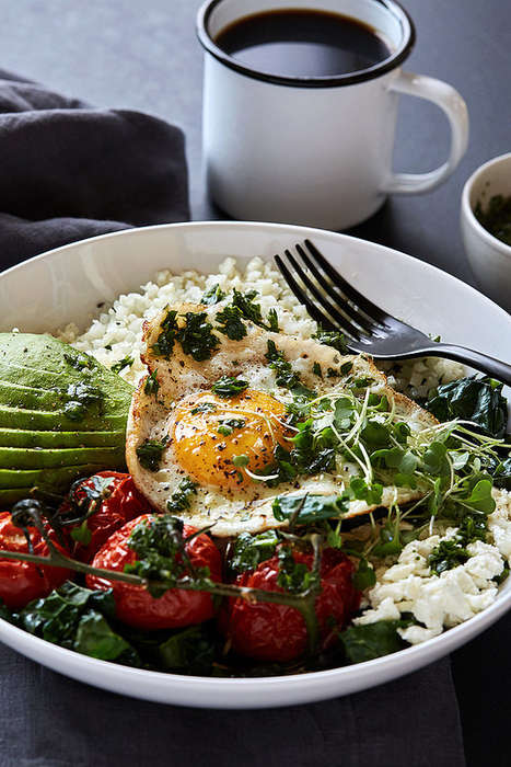 Savory Breakfast Bowls - This Veggie Bowl Offers Roasted Produce and Protein for Early Morning Fuel