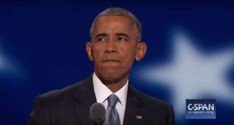 Tenacious Government Leaders - Barack Obama's Speech About America Encourages Citizens to Vote