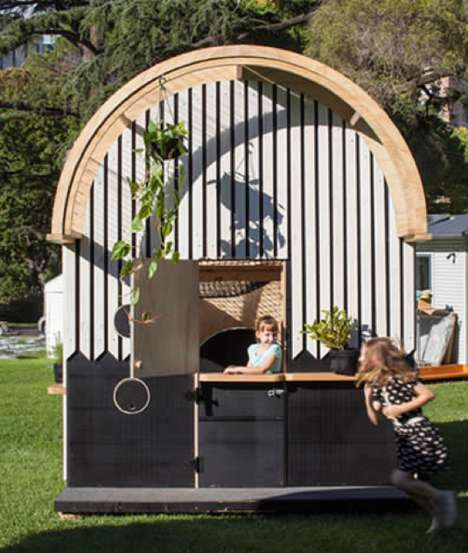 This Elaborate Cubby House Harbors Big Imaginations