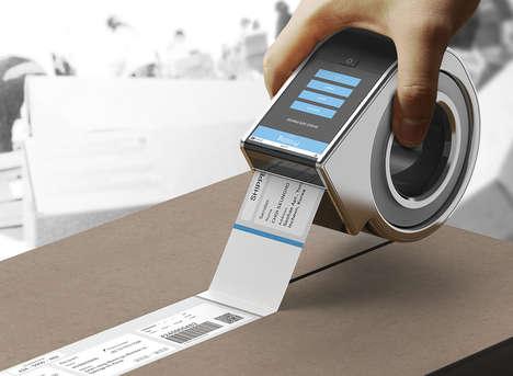 Adhesive Invoice Printers
