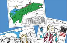 Female Leader Coloring Books - The Coloring Pages for Adults Celebrate Hillary Clinton and Khaleesi