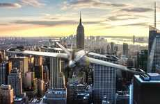 Hybrid Aircraft Drones - The Airbus Drone Borrows Its Build from the Engineering of Airplanes