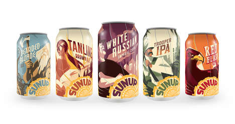 Characterized Beer Graphics