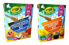 Customizable Baking Kits - The Crayola Baking Kits Allow Kids to Customize Their Own Desserts