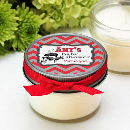 Custom Candle Labels - These Candles Make for an Excellent Personalized Gift