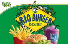 Carnival-Inspired Burgers - McDonald's Malaysia Created a Rio Burger in Honor of the Olympics