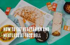 Vegetarian Fast Food Guides - Taco Bell Created a Guide to Showcase Its AVA-Certified Food Options