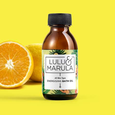 Energy-Boosting Bath Oils - Lulu & Marula's Energizing Cleanser Will Hydrate and Invigorate Skin