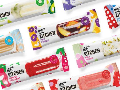 Artisanal Popsicle Packaging
