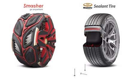 Trailblazing Tire Designs - These Award-Winning Concept Tires Promise Next-Level Performance