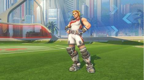 Video Game Olympic Outfits