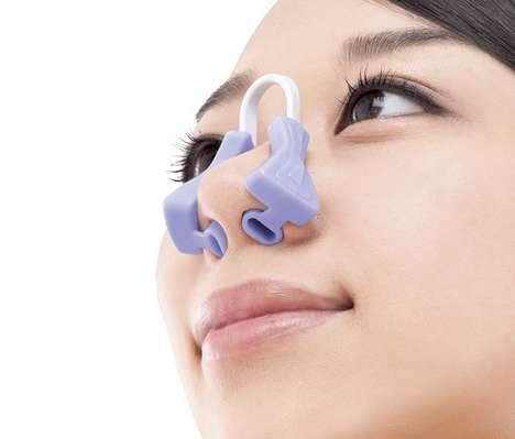 Size-Decreasing Nose Clips