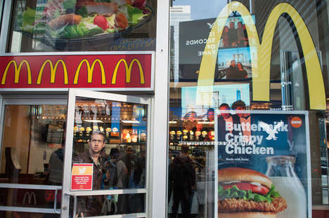 Transparent Fast Food Menus - McDonald's is Making Its Healthy Recipe Changes Clear to the Public