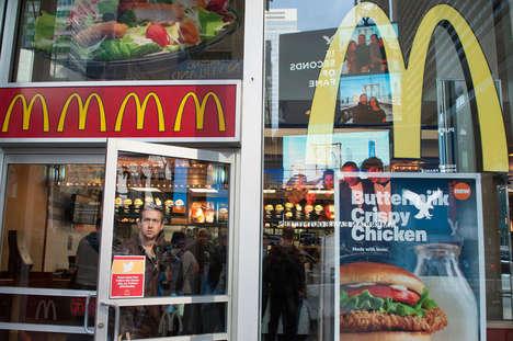 Transparent Fast Food Menus