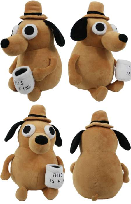 Meme-Themed Stuffed Animals
