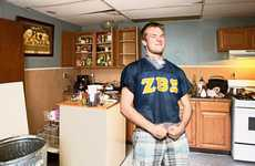 Candid College Photography - Philip Holt Documented a Visual Tour of His Son's Fraternity House