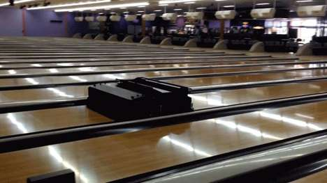 Robotic Bowling Alley Cleaners