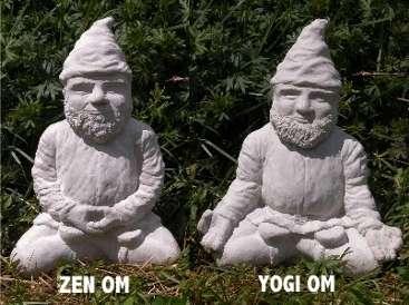 Meditating Garden Figures