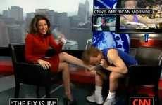 Kissing Feet on National TV