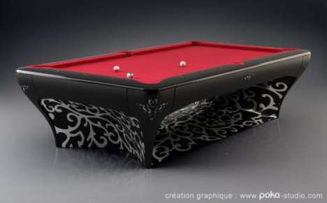 Diamond Encrusted Pool Tables