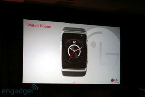 The LG Watch Phone To Enable Futuristic Calling (CES 2009)