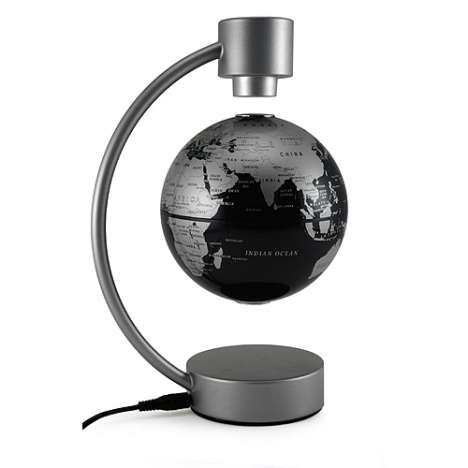 Stelanova Levitating Globe Fascinates Young and Old