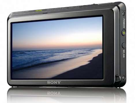 Web-Surfing Digital Cameras - The Sony Cyber-Shot DSC-G3 Features Built-In Browser (CES 2009)